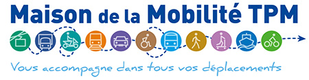 Logo maison de la mobilité TPM