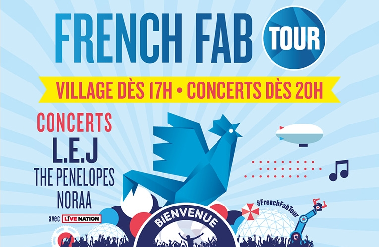 Le French Fab Tour à Toulon le 17 juillet
