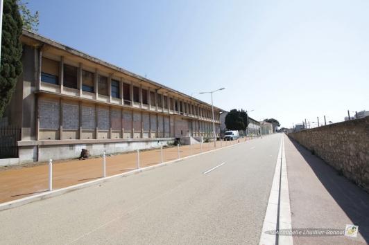 Le site aujourd'hui boulevard du commandant Nicolas