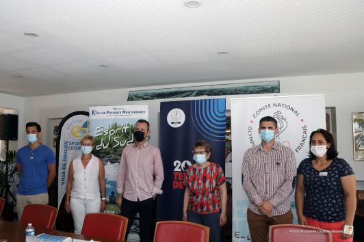 Conférence de presse - Journée Olympique