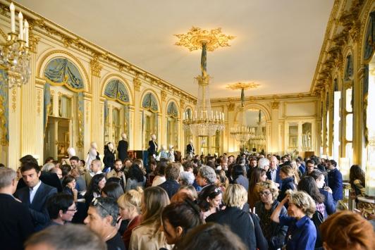 Inauguration de l'exposition au ministère de la Culture et la Communication ©Saywho