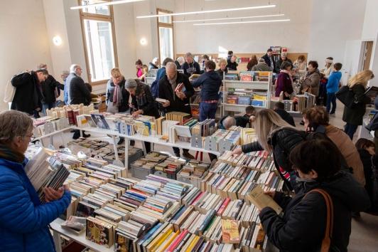 Une bourse aux livres était proposée tout le week-end
