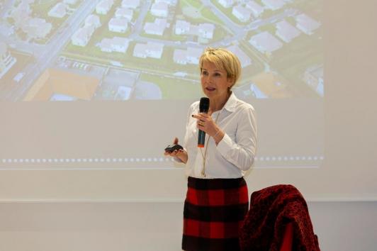 Corinne Vezzoni, l'architecte du projet