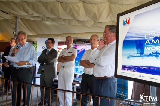 Présentation de l'évènmeent aux acteurs économiques du territoire mardi 19 juillet au Lido