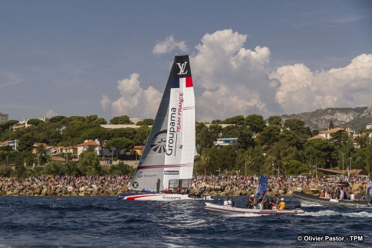 Groupama Team France termine 4ème au classement de l'étape toulonnaise
