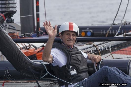 Hubert Falco a embarqué sur Groupama Team France pour la première manche