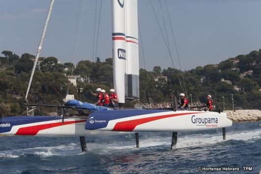 Groupama Team France: après 3 manches, les français occupent la seconde place sur l'épreuve de Toulon