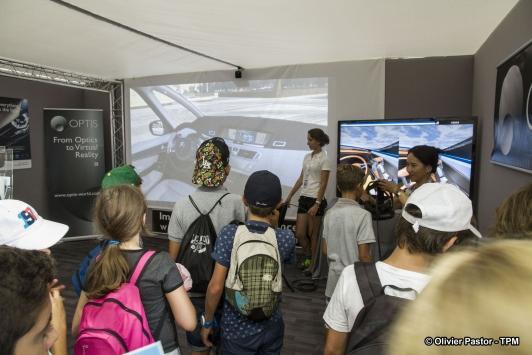Simulation réalité virtuelle Optus -  La Cité des Sciences et de la Mer