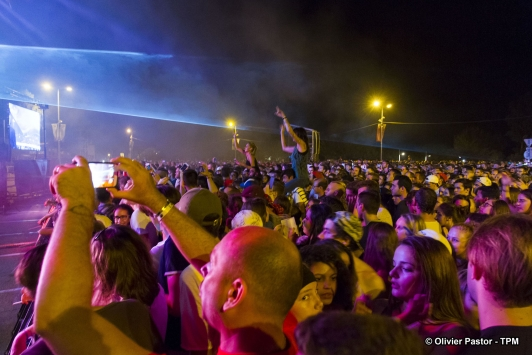 40 000 personnes sont venus applaudir The Avener