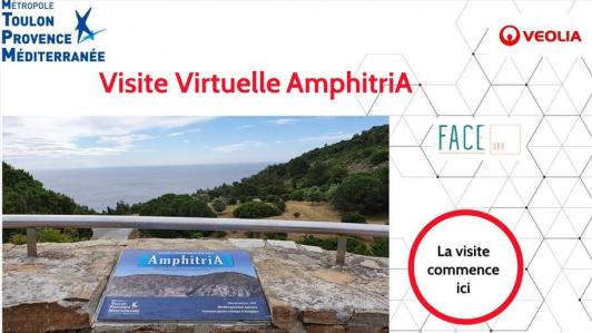 Visite virtuelle AmphitriA, dans les écoles