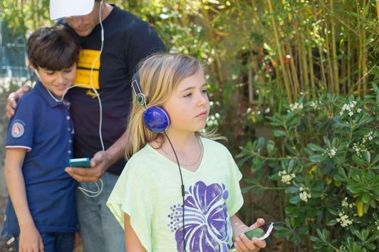 Visite audio guidée à destination des enfants © TPM Hortense Hébrard