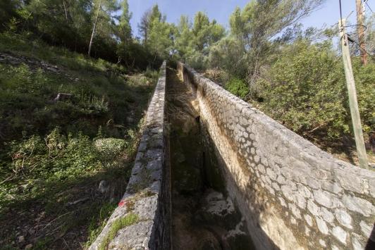 Déversoir du barrage de Dardennes - Revest les eaux - conf de presse