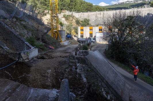 Travaux Barrage de Dardennes au Revest-les-Eaux