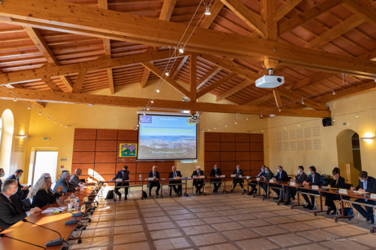 Premier comité de pilotage TPM-CCVG ©Laurent Perrier