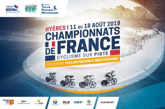 21eme Championnats de France de cyclisme sur piste à Hyères