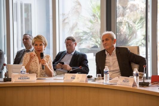 Conférence de presse Chalucet