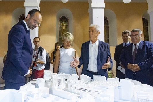 Les bâtiments seront inaugurés vendredi 16 octobre par Hubert Falco et Edouard Philippe
