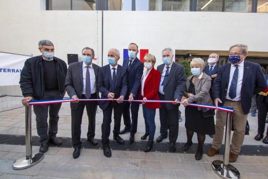 Inauguration des bâtiments des Beaux-Arts et de la Maison de la Créativité