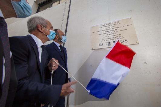 Inauguration du bâtiment des Beaux-Arts