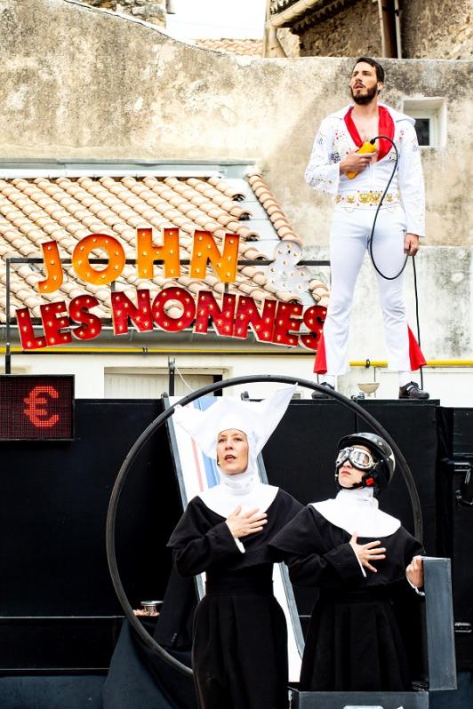 John et les nonnes - Festival Regards sur rue 2021