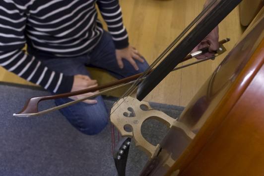 Conservatoire contrebasse © Olivier Pastor / TPM
