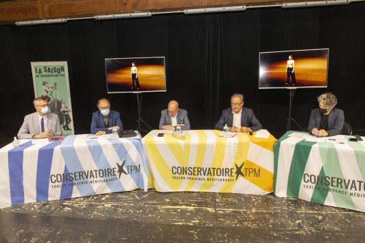 Saison culturelle 2021-2022 Conservatoire /Conf de presse 28/09/22
