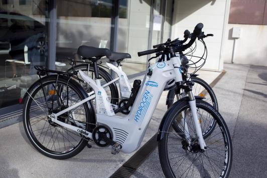 Vélo à hydrogène vert - Lancement de la SAS Hynomed