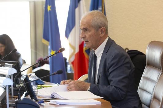 Hubert Falco - Conseil Métropolitain du 10 décembre 2019