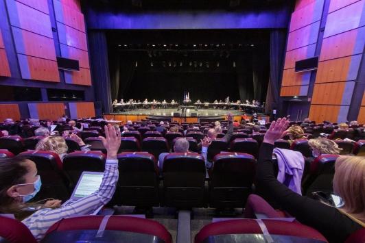 Conseil métropolitain - 25 mars 2021 - palais Neptune (Toulon)