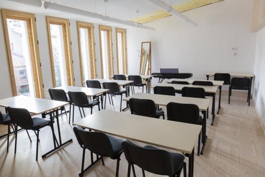 Salle de classe du Conservatoire TPM - Site du Pradet