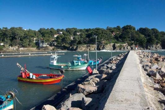 Hyères - Port du Niel