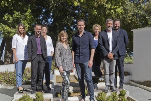Le jury de Design Parde 9 à la villa Noailles