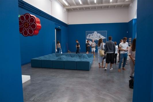 Design Parade Toulon - Bleus Méditerranée - musée des arts © Olivier Pastor TPM