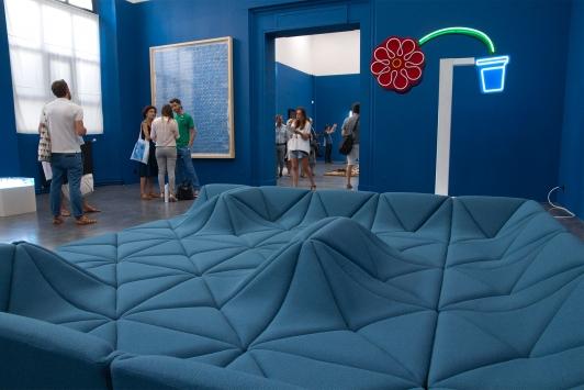 Design Parade Toulon 2016 - Bleus Méditerranée - musée des arts © Olivier Pastor TPM