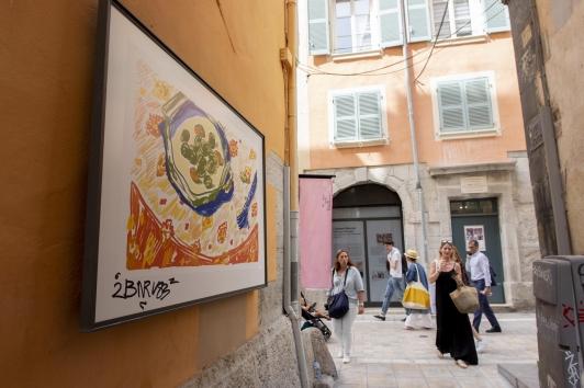 Les dessins d'Alexandre Benjamin Navet Rue des Arts à Toulon