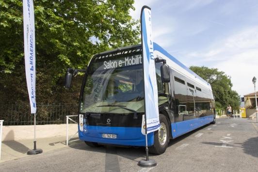 Nouveau bus électrique du Réseau Mistral
