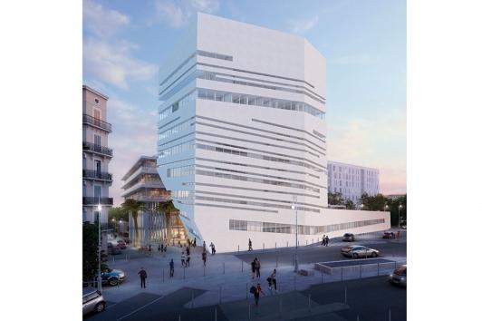 Ecole Supérieure d'Art et de Design TPM et incubateur/pépinière d'entreprises du numérique TVT © Golem Images
