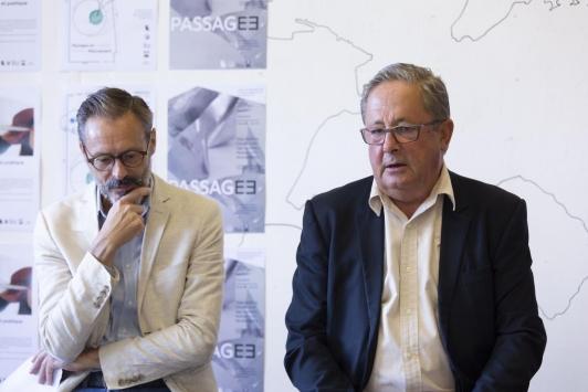 Yann Tainguy et Jean Marc AVRILLA - Conférence de presse ESADTPM