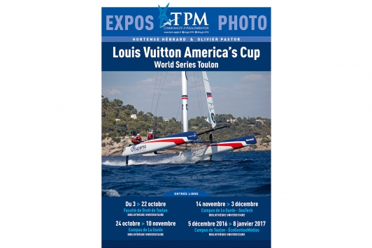 Exposition Louis Vuitton America's Cup World series Toulon - Hortense Hébrard et Olivier Pastor