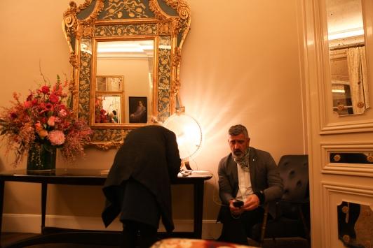 19h - Jean Pierre Blanc, directeur de la villa Noailles, annonçant leur sélection aux 30 candidats séléctionnés