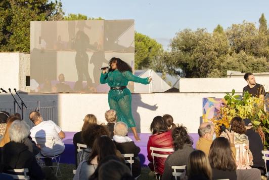 Inauguration - Yseult - 35e festival Villa Noailles