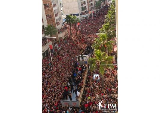 Parade du RCT - Avenue de la République