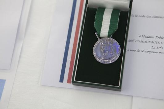Remise des médailles d'honneur TPM