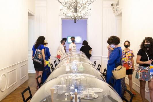 """Exposition """"Futurissimo. L'utopie du design italien"""" à Hôtel des Arts TPM"""