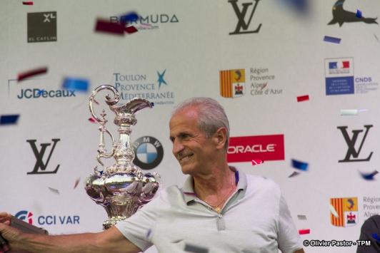 Hubert Falco à la cérémonie officielle d'ouverture vendredi soir