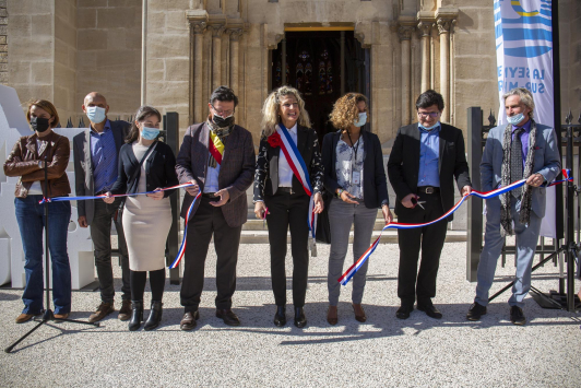 Inauguration de la place Germain Loro - La Seyne-sur-Mer