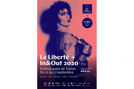 Le Liberté + In&Out 2020 Festival queer de Toulon