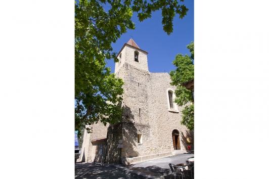 L'église St-Christophe du Revest-les-Eaux © Olivier Pastor TPM
