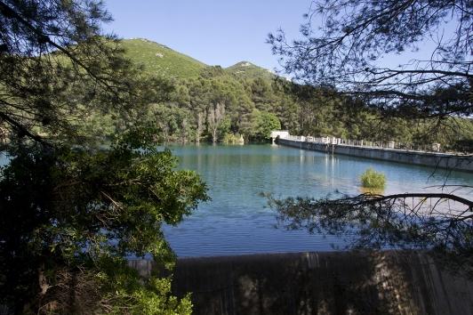 Le barrage de Dardennes - Le Revest-les-Eaux © O.Pastor TPM