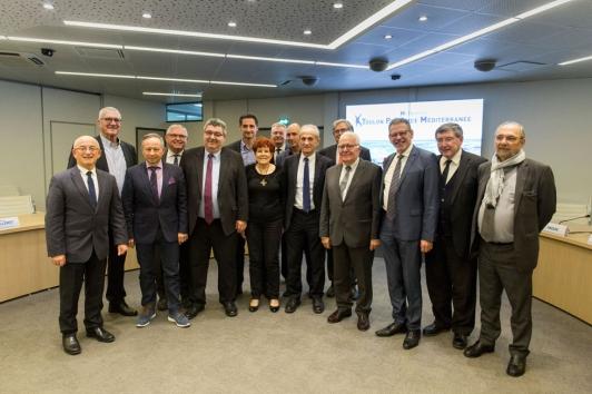 Les vice-présidents et maires de TPM